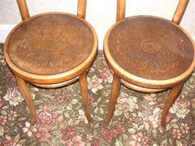 Thonet Bentwood Chairs ...